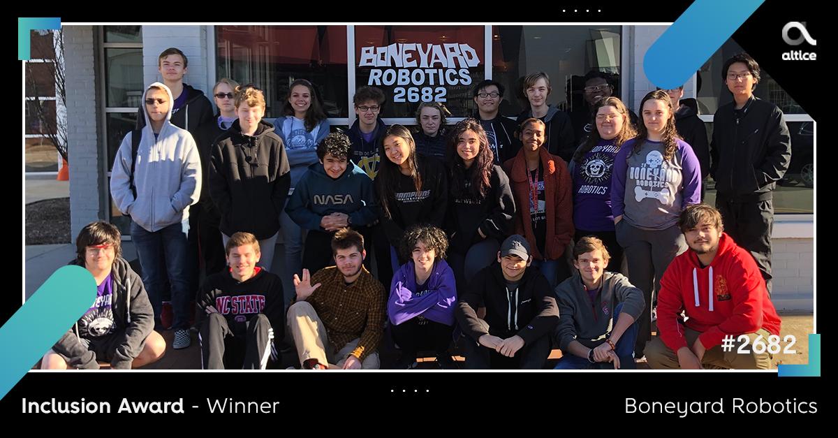 Ganadores del premio Altice Future Innovator Award 2020 - Ganador del premio InclusionAward
